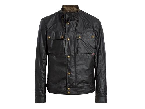 Belstaff Racemaster Water Resistant Waxed Cotton Jacket