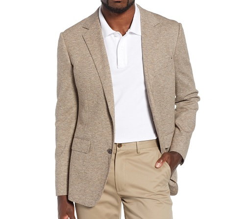 61ac6a7dd9a213 Bonobos Jetsetter Slim Fit Knit Cotton Sport Coat