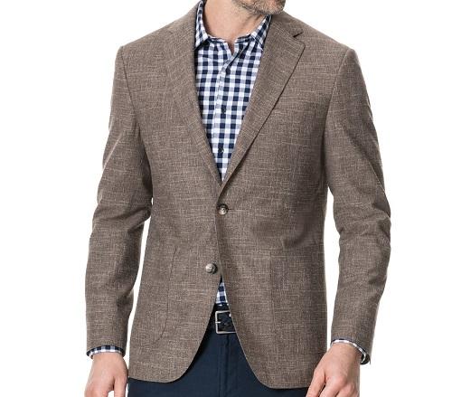 Made in Italy Rodd & Gunn wool/cotton/linen Sportcoat