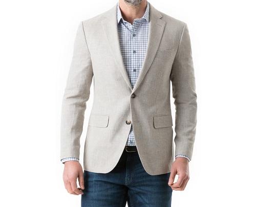 Made in Italy Rodd & Gunn Wool/Linen Sport Coat