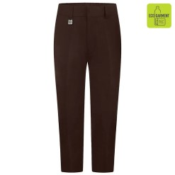 Brown Sturdy Fit Trouser