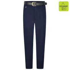 Navy Extra Sturdy Fit Trousers