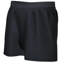 impact rugby short black
