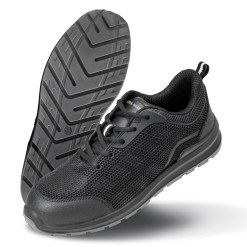 Black Safety Trainers