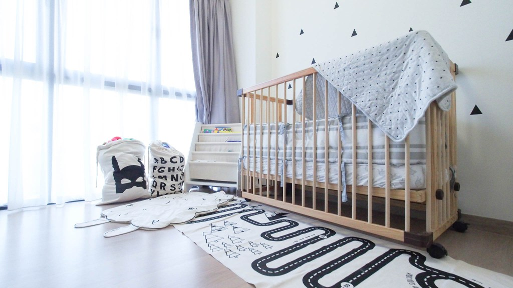 Daprayer.com | Monochrome Kids Room Inspiration| Getting your child to bed in 15 Minutes