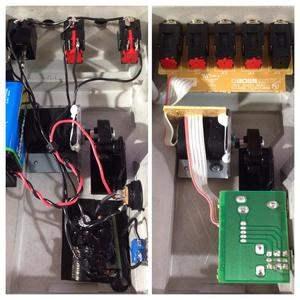 BOSS FV-500Lの基板を排しポイントツーポイント配線にしています。