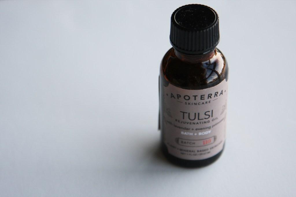 Apoterra Tulsi Rejuvenating Body Oil