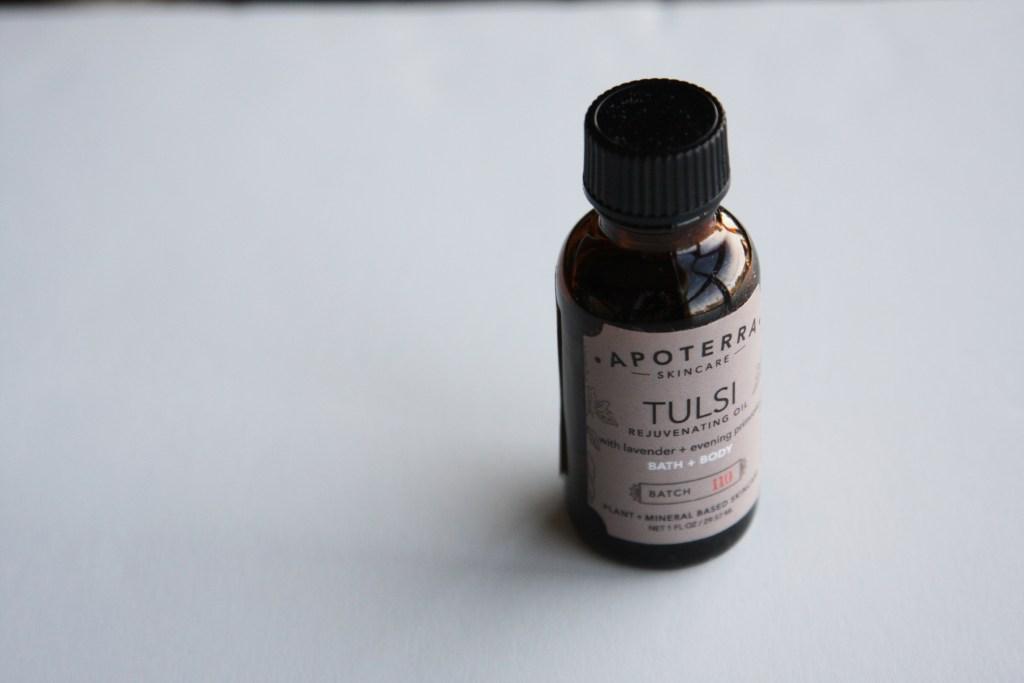 Apoterra Tulsi Rejuvenating Body & Bath Oil