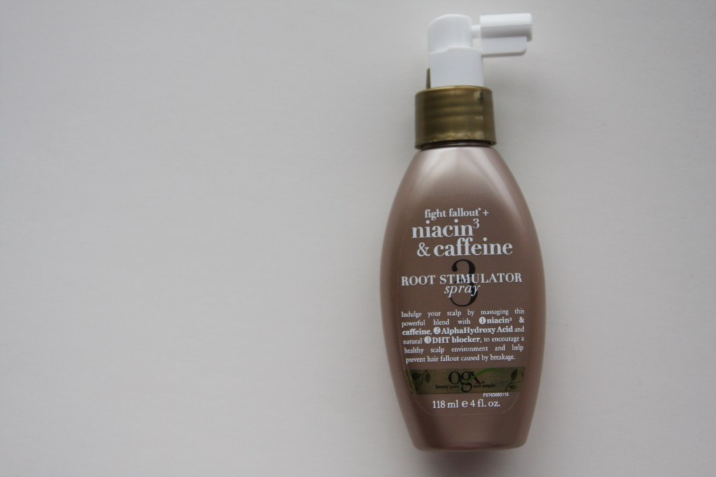 Niacin & Caffeine root stimulator spray for hair