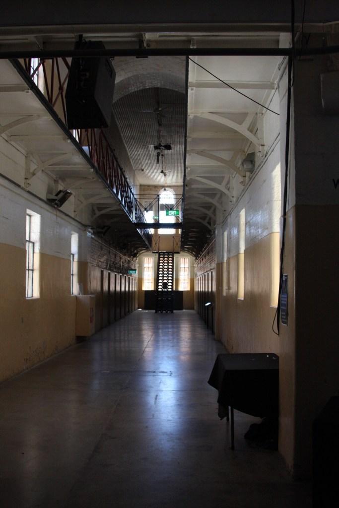 inside the Castlemaine prison