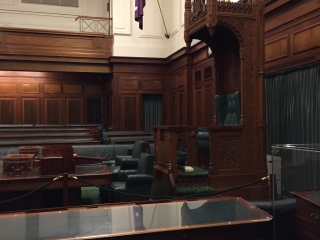 speakers seat in the House of Representatives old Parliament House