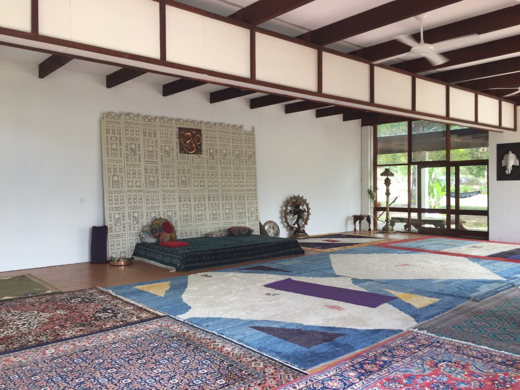 The Yoga Room at Swami's Yoga Retreat