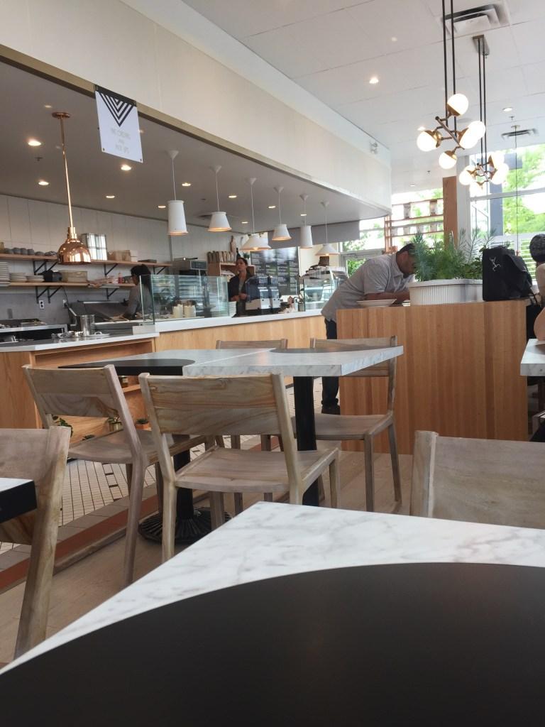 inside the West Village Cafe