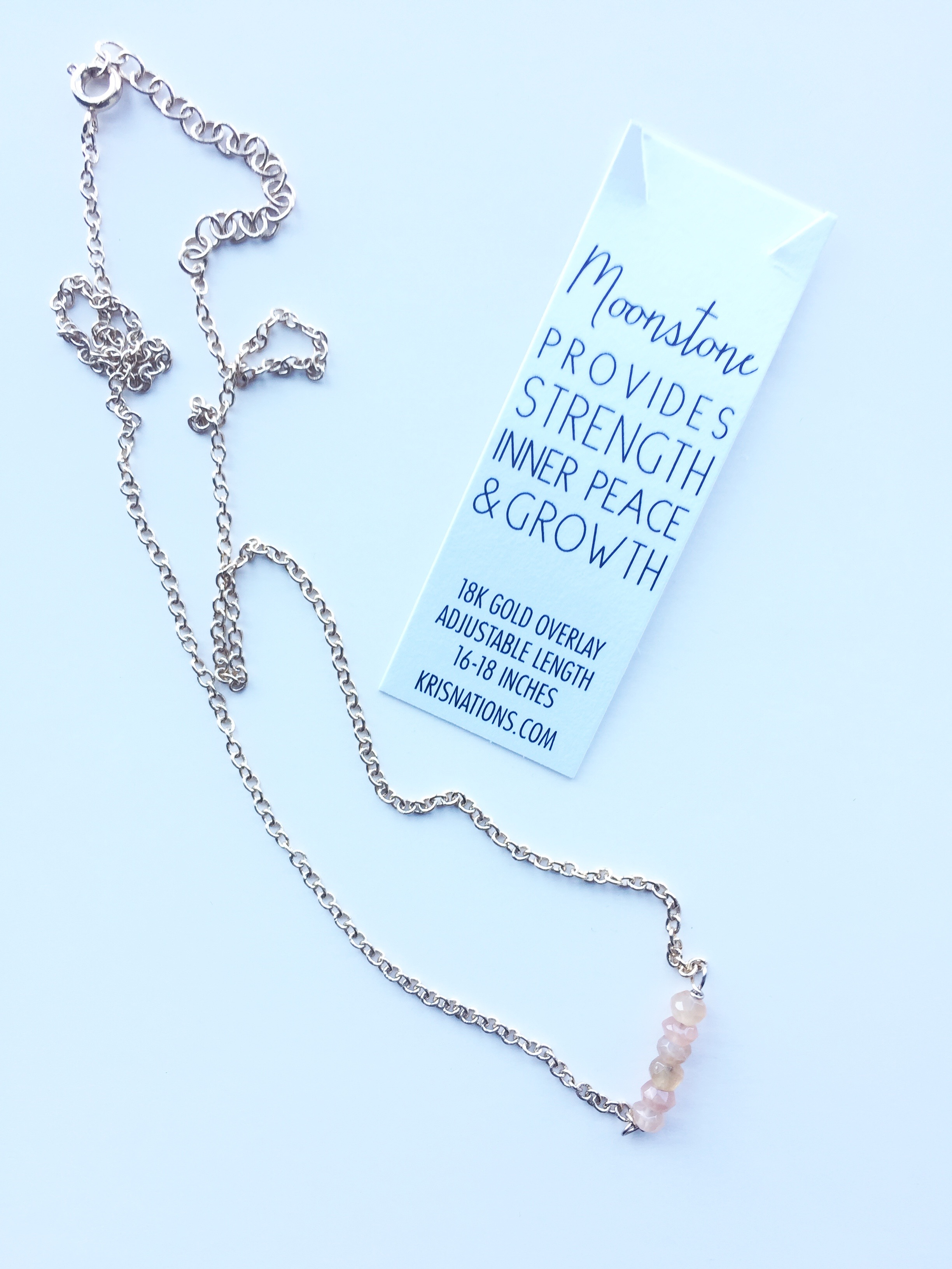 Kris Nations Moonstone Necklace FabFitFun Summer 2017