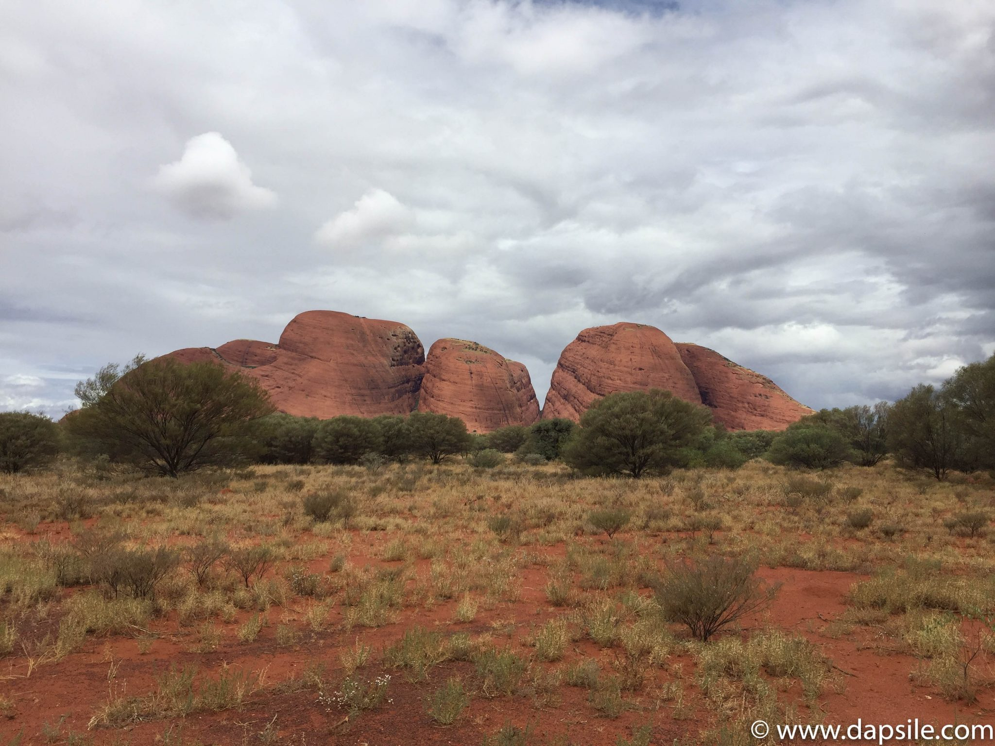 Kata Tjuta or the Olgas from tour from Alice Springs to Uluru