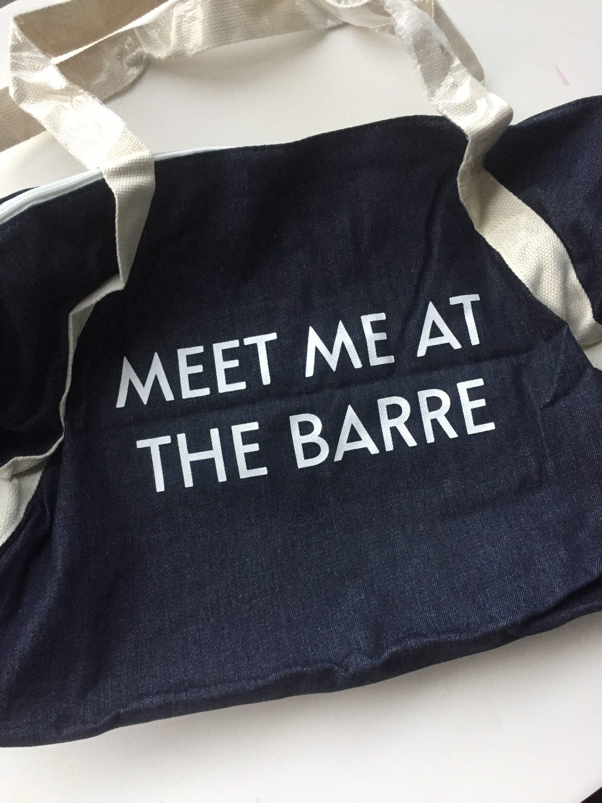 FabFitFun Fall 2017 Gym Bag