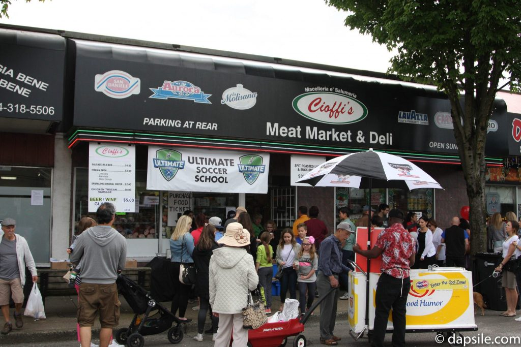 Summer Street Festivals in the Vancouver Area Cioffi's Meat Market