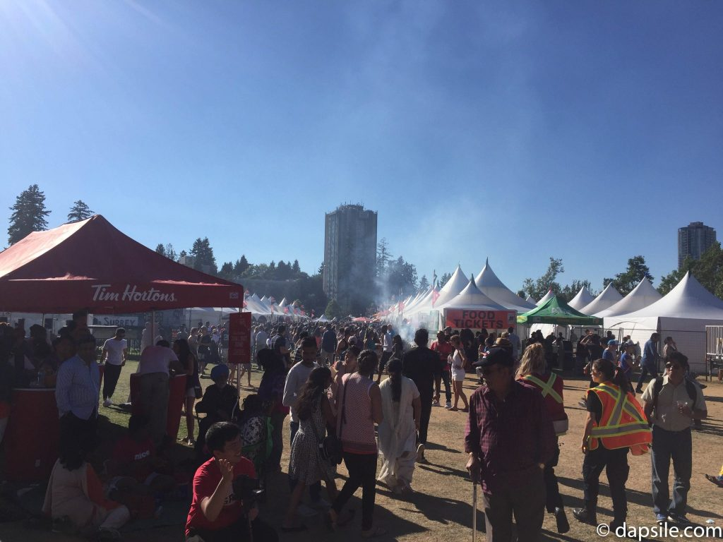 Summer Street Festivals in the Vancouver Area Pavilions