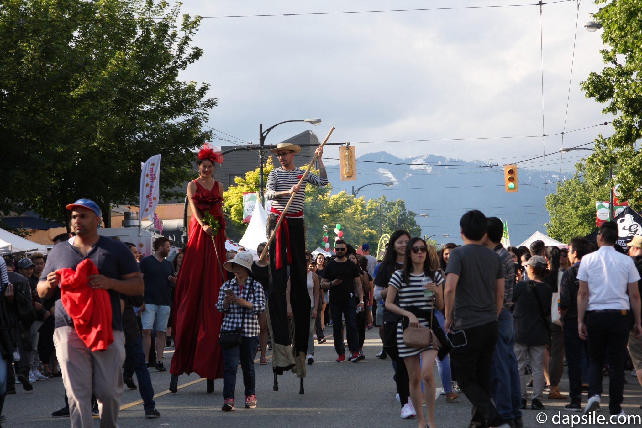 Summer Street Festivals in the Vancouver Area entertainment Italian Days on the Drive