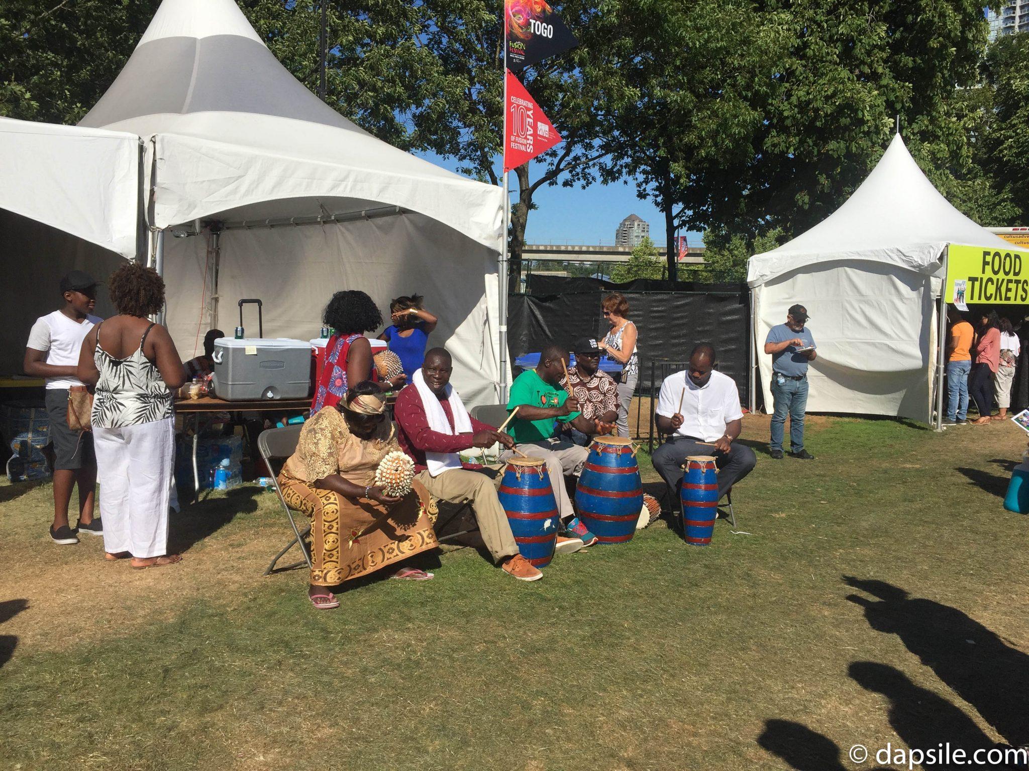 Surrey Fusion Festival Togo Pavilion