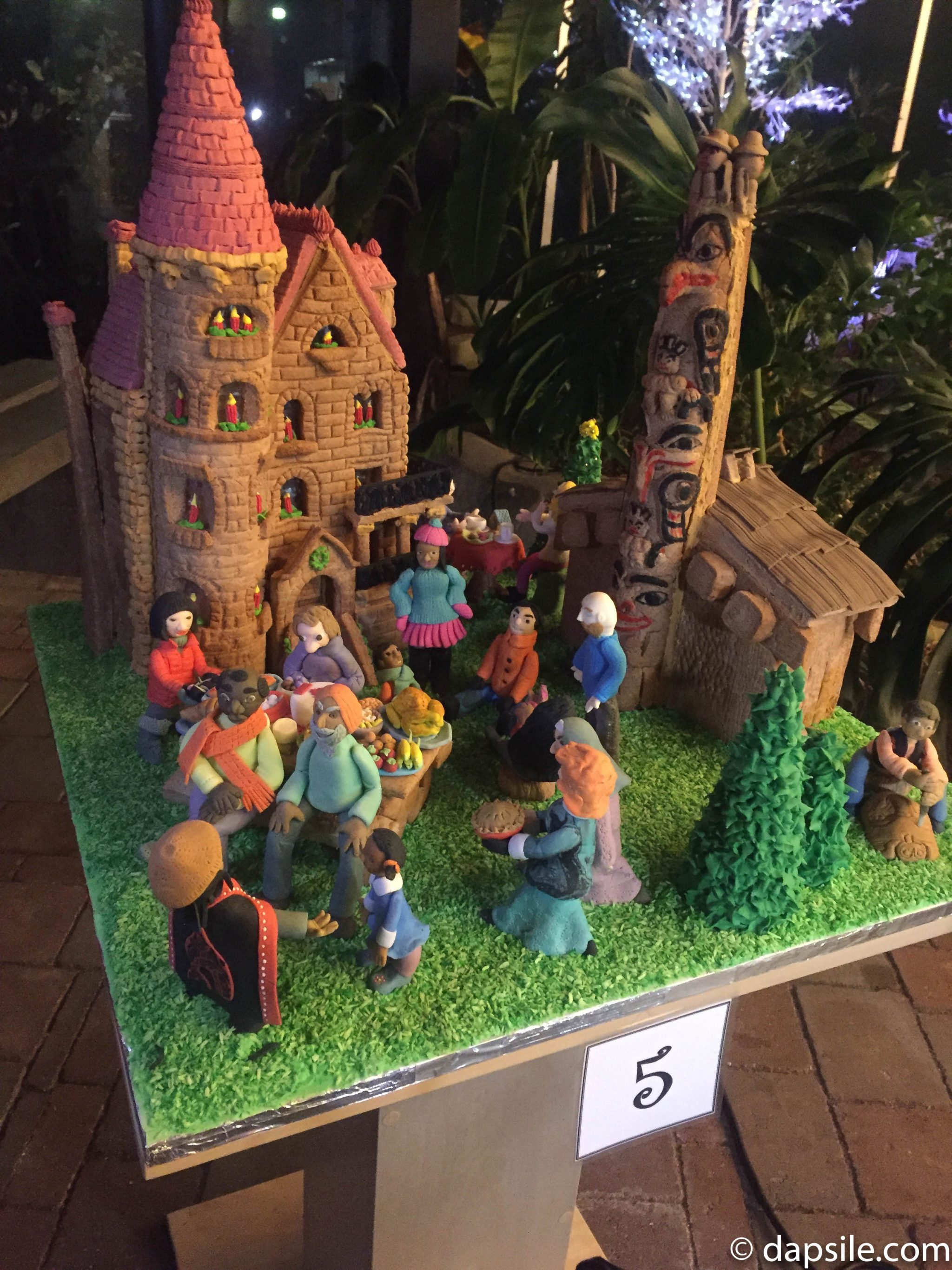 Things to Do in Victoria Gingerbread House Display People of Canada