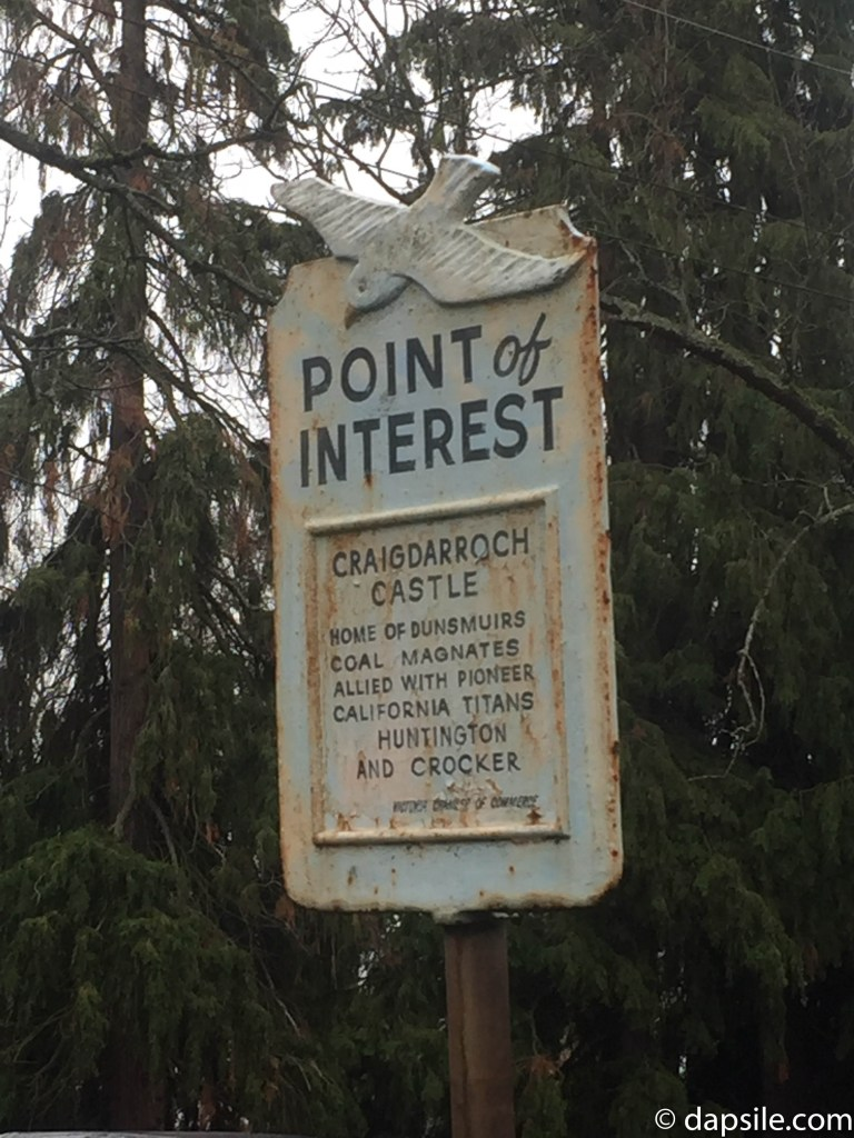 Things to do in Victoria Older Point of Interest Sign