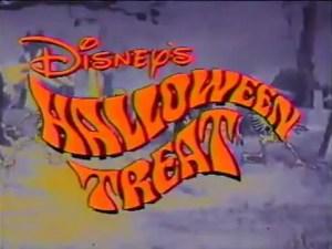 Disney's Halloween Treat Title