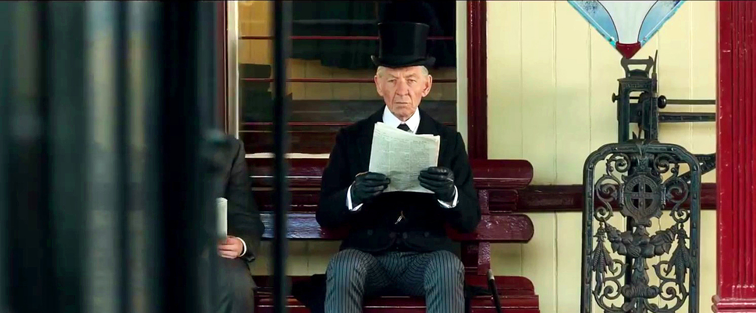 Ian McKellen as Mr. Holmes