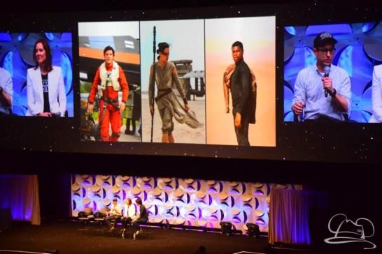Star Wars The Force Awakens Panel Star Wars Celebration Anaheim-31