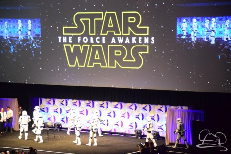 Star Wars The Force Awakens Panel Star Wars Celebration Anaheim-49