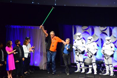 Star Wars The Force Awakens Panel Star Wars Celebration Anaheim-67