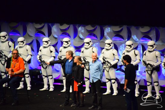 Star Wars The Force Awakens Panel Star Wars Celebration Anaheim-76