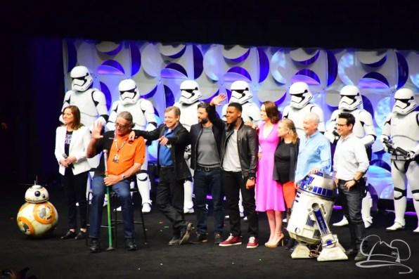 Star Wars The Force Awakens Panel Star Wars Celebration Anaheim-87