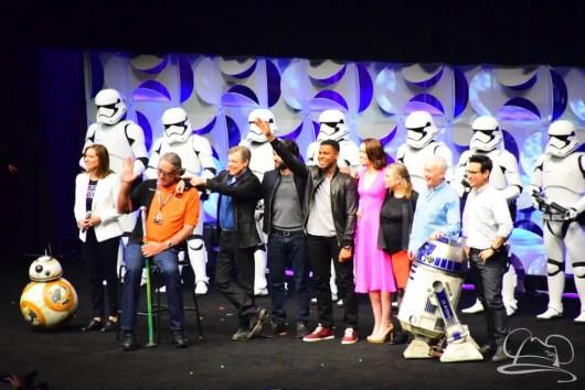 Star Wars The Force Awakens Panel Star Wars Celebration Anaheim-88