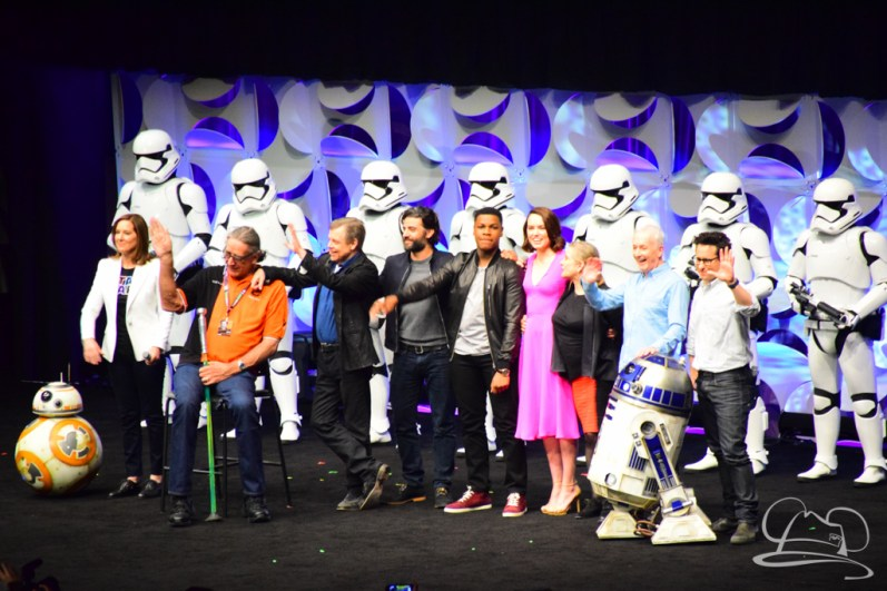 Star Wars The Force Awakens Panel Star Wars Celebration Anaheim-91