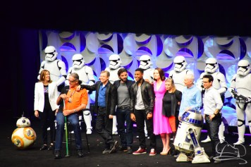 Star Wars The Force Awakens Panel Star Wars Celebration Anaheim-95