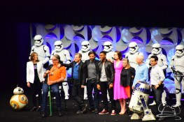 Star Wars The Force Awakens Panel Star Wars Celebration Anaheim-96