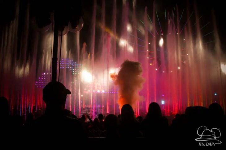 Disneyland 60th Anniversary Celebration World of Color - Celebrate-148