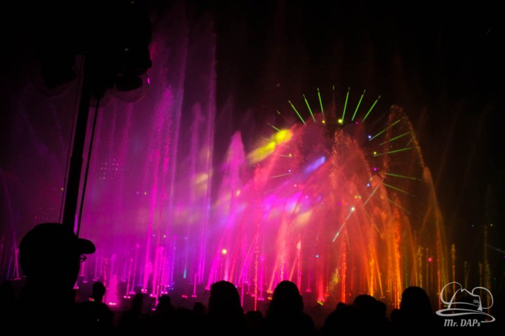 Disneyland 60th Anniversary Celebration World of Color - Celebrate-165