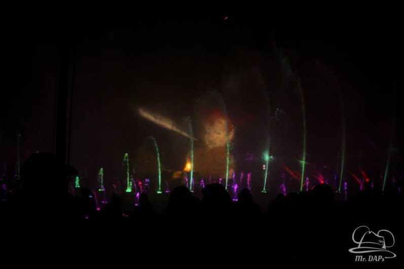 Disneyland 60th Anniversary Celebration World of Color - Celebrate-66