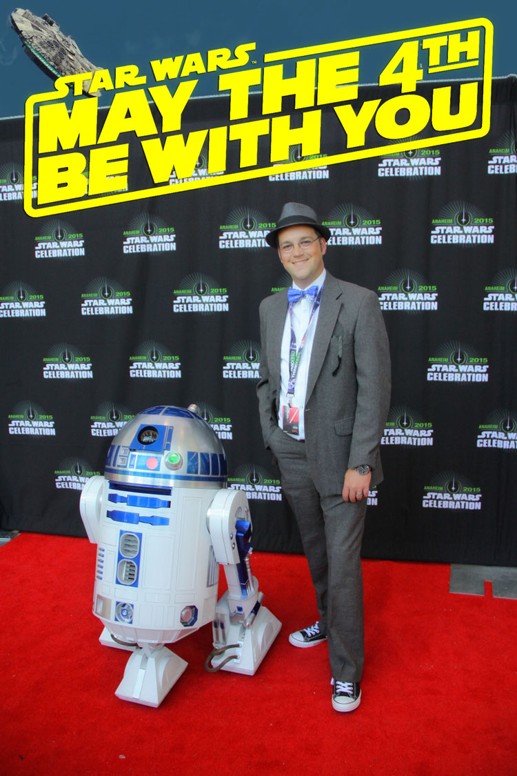 May the 4th Be With You - Mr. DAPs at Star Wars Celebration