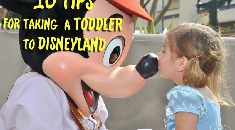 10 Tips for Taking a Toddler to Disneyland