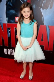 """LOS ANGELES, CA - JUNE 29: Actress Abby Ryder Fortson attends the world premiere of Marvel's """"Ant-Man"""" at The Dolby Theatre on June 29, 2015 in Los Angeles, California. (Photo by Jesse Grant/Getty Images for Disney) *** Local Caption *** Abby Ryder Fortson"""