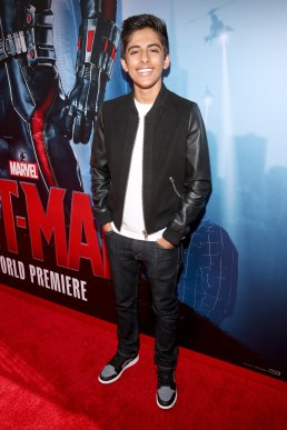 """LOS ANGELES, CA - JUNE 29: Actor Karan Brar attends the world premiere of Marvel's """"Ant-Man"""" at The Dolby Theatre on June 29, 2015 in Los Angeles, California. (Photo by Jesse Grant/Getty Images for Disney) *** Local Caption *** Karan Brar"""