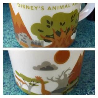 Disney's Animal Kingdom - You Are Here - Starbucks Mug