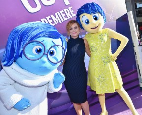 HOLLYWOOD, CA - JUNE 08: Actress Amy Poehler attends the Los Angeles Premiere and Party for Disney•Pixar's INSIDE OUT at El Capitan Theatre on June 8, 2015 in Hollywood, California. (Photo by Alberto E. Rodriguez/Getty Images for Disney) *** Local Caption *** Amy Poehler