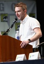 SAN DIEGO, CA - JULY 10: Moderator Chris Hardwick at the Hall H Panel for `Star Wars: The Force Awakens` during Comic-Con International 2015 at the San Diego Convention Center on July 10, 2015 in San Diego, California. (Photo by Jesse Grant/Getty Images for Disney) *** Local Caption *** Chris Hardwick