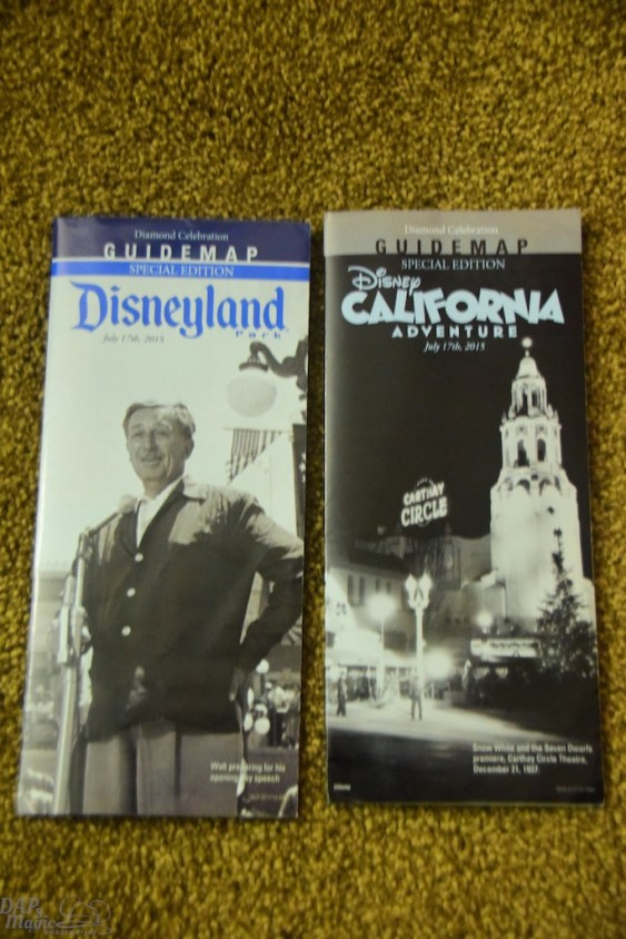 The special maps given out that day