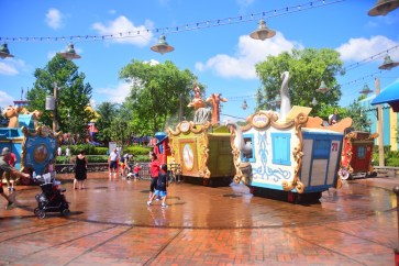 Casey Jr. comes to town in New Fantasyland
