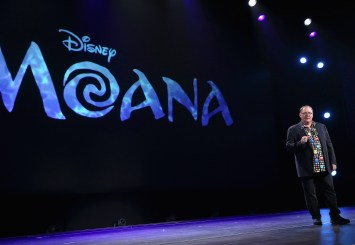 """ANAHEIM, CA - AUGUST 14: Chief Creative Officer of Walt Disney and Pixar Animation Studios John Lasseter took part today in """"Pixar and Walt Disney Animation Studios: The Upcoming Films"""" presentation at Disney's D23 EXPO 2015 in Anaheim, Calif. (Photo by Jesse Grant/Getty Images for Disney) *** Local Caption *** John Lasseter"""